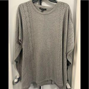 Grey poncho, New
